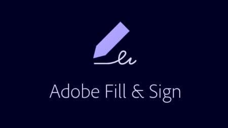 Utilidad Adobe FillSign